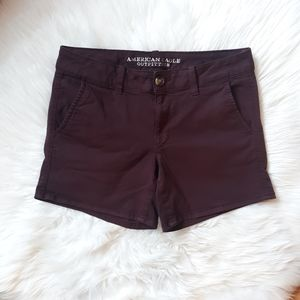 American Eagle Midi Super Stretch Shorts